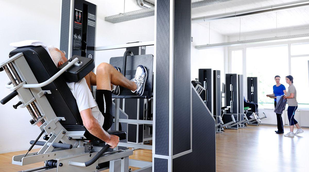 Gesunder Muskelaufbau mit Krafttraining